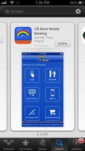cb app in store