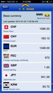 wrong exchange rate